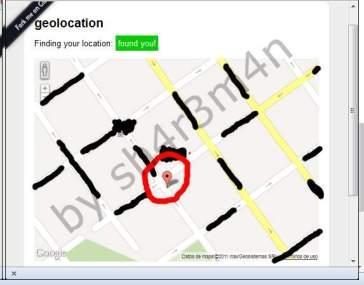 Localizado efectivamente mediante redes Wi-FI cercanas